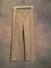 NEW WITH TAGS $79.95 COLDWATER CREEK PETITE LADIES TAUPE DRESS PANTS SIZE 6P