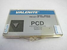 NEW Valenite Polycrystalline Diamond Insert PCD VC727 DH3319 TPA-221-2F