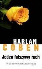 Jeden falszywy ruch, Harlan Coben,  polish book