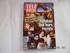 TELE POCHE N°1836 DU 21 AU 27 AVRIL 2001 YAMAKASI MYLENE FARMER     E20