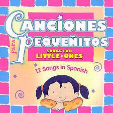 Spanish Language Series: Canciones Para Pequenitos Music CD