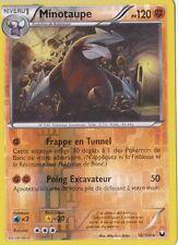 Minotaupe Reverse-N&B:Explorateurs Obscurs-56/108-Carte Pokemon Neuve France