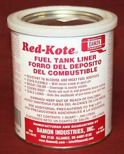 Red Kote Quart Coat Gas Oil Diesel Fuel Tank Sealer Patch Engine Motorcycle