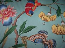 2 tropical print bird butterfly peach Decorative pillow cover 16 x 16 pocket