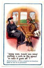 CPA Carte Fantaisie Illustrateur Donald mc Gill  Young Man postcard fantasy