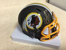 Su'a Cravens Signed Auto Redskins Mini Helmet w/Inscription JSA Witness