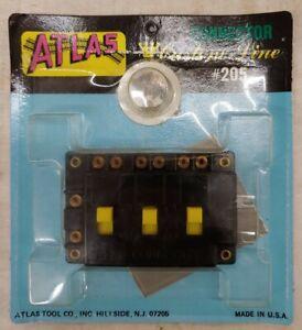 Atlas Connector Box #205, NIP (13B)