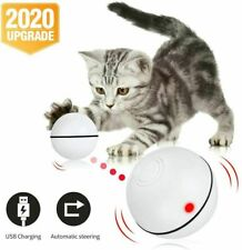 Cat Toy Interactive Automatic Self Rotating Rechargeable LED Rolling Motion B