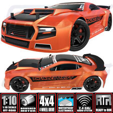 Redcat Thunder Drift 1/10 Electric Belt Drive On Road Car 4WD RTR Orange