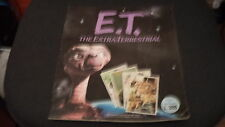"ALBUM FIGURINE E.T. THE EXTRA-TERRESTRIAL (MANCANTI 3 FIG) - BUONO ""N"""