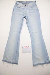 Levis 544 Flare Bootcut (Cod.J581) Tg.42 W28 L34 Jeans Utilisé Boyfriend Femme