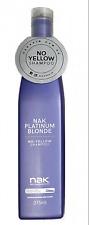 NAK Platinum Blonde No-yellow Shampoo 375ml