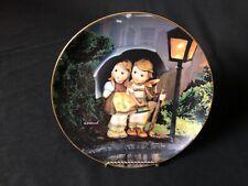 "Danbury Mint M.J. Hummel Collector Plates Little Champions "" Stormy Weather�"