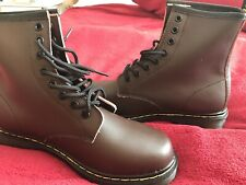 Dr Martens Style Brown Boots Size 6
