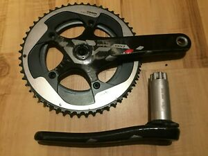 SRAM RED 22 Carbon Kurbelgarnitur 2 x 11,  L=172,5  BB30 - PF30
