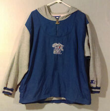 Vintage University Of Kentucky Wildcats Starter Pullover Hoodie 1990s M Medium