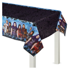 Descendants 3 Plastic Table Cover Girls Birthday Party Supplies Decoration