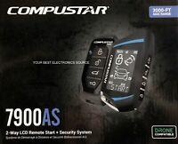 NEW Compustar CS7900AS 2-Way Paging Remote Start/Alarm w/ LCD Remote