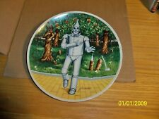 "Wizard Of Oz Collector Plates,""If I Only Had A Heart"" Third Issue In Series."