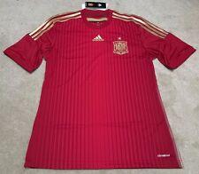 Adidas SPAIN HOME JERSEY red Sz Medium M39411 Ramos Costa Silva NEW NWT