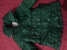 lotto 738 piumino giubetto k-way bimba bambina verde 4/5 anni