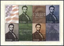 Grenadian Famous People Postal Stamps