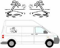(No.19) Camper Van Graphics, Motor Home Stickers, Decals / Vinyl 550mm High