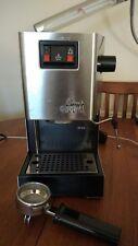 Gaggia Classic 2 Tasses Machine à Espresso-Chrome