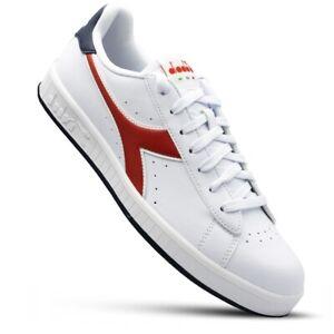 DIADORA Mens Trainers Classic Sneakers Original GAME P 101.160281-C8181 Scapra