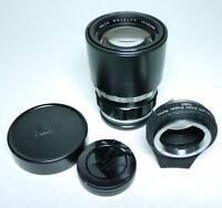 Leica Telyt 1:4 200mm 4/200 Objektiv + OUBIO  ff-shop24