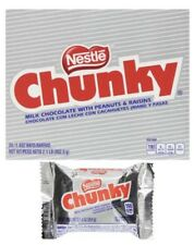Nestle Chunky Milk Chocolate w/ Peanuts & Raisins Candy 24 Count Fresh