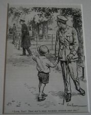 Antique Fred Pegram 1870-1937 English WWI Illustrator Print