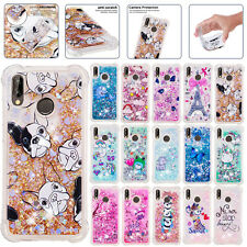 For Samsung Galaxy A10s A20s A30s A50s Phone Dynamic Quicksand Rubber Case Cover
