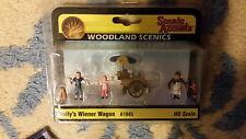 HO Scale Woodland Scenics Wally's Weiner Wagon A1945 NIP
