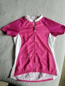 Specialized Riding For A Cure Cycling Jersey Size S Women Pink