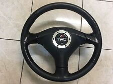 Toyota TRD OEM Airbag SRS JDM Steering Wheel Red Stitch Altezza Lexus MR2 (Used)