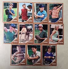 2018 Topps Archives The Sandlot Complete Insert Set - 11 Cards