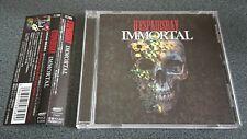 D'espairsRay IMMORTAL 2009 Album CD Used J-Visualkei Industrial Rock w/Tracking#