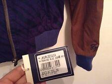 BNWT 👤Franklin & Marshall Alumni 👤 Small Morning Blue Zebra Print Jacket Uni S