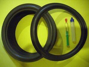 Revox Symbol B Lautsprecher Sicken Reparatur set quality foam rings  R-310