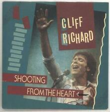 """Cliff Richard Shooting From The Heart - Fa... 7""""  record UK promo"""