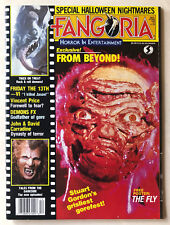 FANGORIA Magazine # 59 RARE MISPRINT w/ DOUBLE POSTER COVERS 1986 The Fly