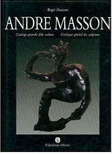 PASSERON ROGER ANDRE MASSON CATALOGO GENERALE DELLE SCULTURE IL QUADRANTE 1987