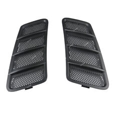 Driver + Passenger Hood Air Vent Grille Cover For Mercedes Benz 12-15 W166 GL ML