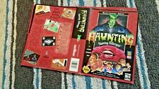 BOX ART ONLY The Haunting Starring Polterguy Original Sega Genesis Case Sleeve