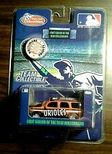 "2000 BALTIMORE ORIOLE METAL DIECAST MLB ""TEAM COLLECTIBLE"" VAN"