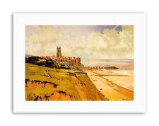 LANDSCAPE CROMER BEACH VILLAGE CHURCH PIER UK Painting Canvas art Prints