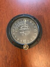 Altimeter 1918 Tycos Ww I Airplane