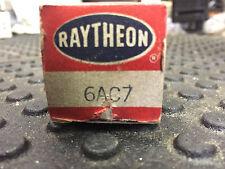 RAYTHEON 6AC7 ELECTRON VACUUM TUBES NOS FREE SHIPPING