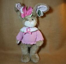Bearington Bears Plush TARA TULIPS  Adorable Dressed Bunny 2013